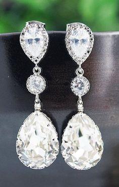 Wedding Jewelry Bridal Earrings Bridesmaid