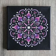 Mandala art painting