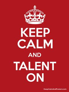 Talent show poster!! :)