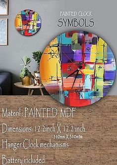 Clock Wood Painting #symbols #Mdf #goodluck #Harmonious #lasercut #happiness Good Luck, Painting On Wood, Laser Cutting, Clocks, Hanger, Original Paintings, Happiness, Symbols, The Originals