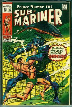 Comic Book Covers, Comic Books, Sub Mariner, Pulp Magazine, Bronze Age, Graphic Novels, Amazing Nature, Marines, Cover Art