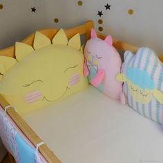 Детская ручной работы. Заказать Бортики на 4 стороны кроватки. конверты и одеяла 'РЕПКА'. Ярмарка Мастеров. Текстиль для интерьера