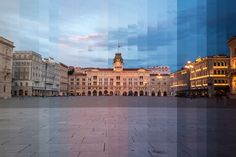 Night and Day Time-Slice Photography: Trieste.