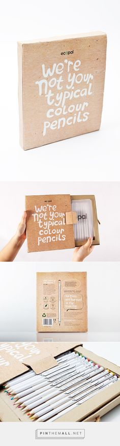 Ecopal / Ecopal is a self-made brand of wood-free colour pencils. Popular and sustainable too PD