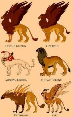 Griffin types