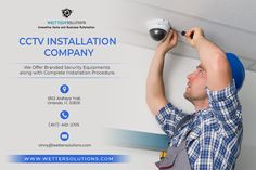 If you want CCTV installation at your home or office space then you should take professional service for proper installation. The expertise of Wetter Solutions always available to serve you quick, best and affordable installation service in Orlando. Cctv Camera Installation, Structured Cabling, Hd Security Camera, Ptz Camera, Business Operations, Cctv Surveillance, Security Equipment, Security Solutions, Flyers