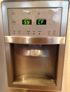What are the Frigidaire fault codes?