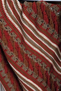 The Manghan Crochet Afghan from KnitPicks.com (for the man in your life)
