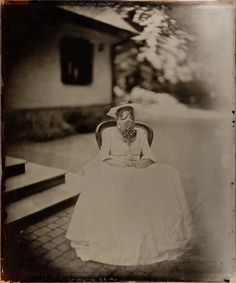 "By: Marcin Szwaczko Title: ""Lost Days"" Country: Poland Date: Wet Plate Collodion, International Artist, Poland, Lost, Country, Wedding Dresses, Image, Bride Gowns, Wedding Gowns"
