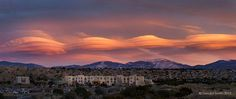 Lenticular clouds over Sangre de Cristos mountains, New Mexico – in January, 2015 – by EarthSky Facebook friend Geraint Smith.