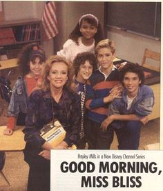 Good Morning Miss Bliss...  The original Saved by the Bell