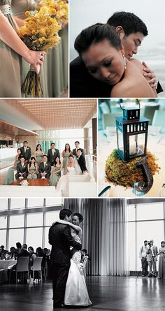 Modern wedding style; Photos by Michael Ash Imagery