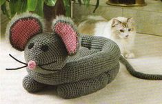 Ravelry: Pampered Pets - Snuggly Mouse Bed pattern by Cynthia (Cindy) Harris