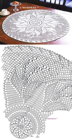 Diy Crafts - Crochet,Doilies-Newest Pictures Crochet Doilies centerpiece Ideas Although most of the doilies that you see in stores today are manufactu Crochet Tablecloth Pattern, Crochet Doily Rug, Crochet Doily Diagram, Crochet Dollies, Crochet Doily Patterns, Crochet Art, Crochet Round, Crochet Home, Thread Crochet