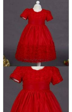 Red Rose lace style kids dress for your princess.  Inbox for price Available age 1y,2y,3y Code 059*