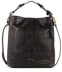 ORIGINAL COCCINELLE Tasche London print schwarz