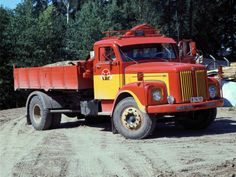 Scania-Vabis L56 Tipper '1962–????