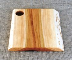 Cherry Wood Cheese Board  Natural Edges by FarmTimbers on Etsy, $30.00
