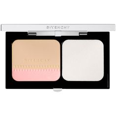 Givenchy Teint Couture Compact Long Wearing Foundation ($56) ❤ liked on Polyvore featuring beauty products, makeup, face makeup, foundation, elegant porcelain, long wear foundation, givenchy foundation, long wearing foundation, givenchy and zipper face makeup