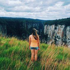 #TheAdventuresOfAmanda in the Itaimbezinho Canyon. Cambará do Sul, RS, Brazil. February 24th, 2014.