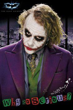 Póster Joker The Dark Knight Batman