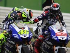 """IMGP: Rossi """"Ma Lorenzo come fa a girare subito così forte?"""""""