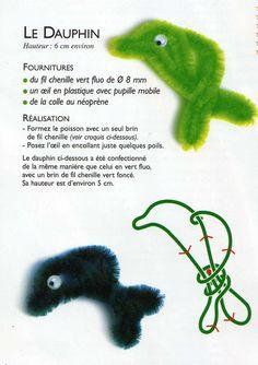 dauphin fils chenille