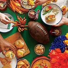 """Tail Gate Party Food! Which ever team you root for, these ideas will make game day a big """"hit""""! Southern Food, Cooking, and Recipes"""