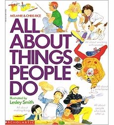 'All About Things People Do' by Lesley Smith is one of the books recommended by @Scholastic on this topic: http://www.scholastic.com/teachers/lesson-plan/books-teaching-about-careers