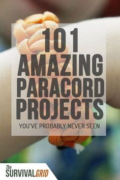 Check out these 101 DIY paracord projects you can start making now. Each project has a video that will show you how to make everything from a paracord bracelet to some heavy duty survival gear. Survival Quotes, Survival Food, Survival Prepping, Survival Skills, Wilderness Survival, Urban Survival, Survival Hacks, Survival Project, Survival Weapons