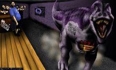 Purple Dino band wallpaper by Sketch • Hunter