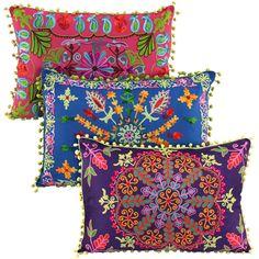 almohadones bordados mandalas - Buscar con Google