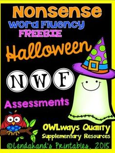 Assess Nonsense Words with a Halloween theme.One school assessment and one homework assessment provided.For more school and homework assessments along with parent letters see my monthly homework teacher packs:)-NWF ASSESSMENTSEnjoy!Ms. Lendahand;)