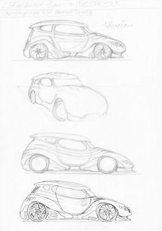 Das Littlebird Auto V.1 #ProfilDiesundDas #SciFi #Zeichnung #Zeichner #Zeichnen