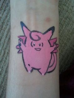 #36 Clefable - Pokemon Face Paint