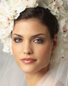Groene ogen, mooie make-up