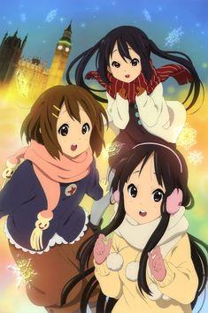 k-on! Part 41 - - Anime Image K On Anime, Anime Nerd, Anime Girls, Anime Stuff, K On Yui, Azusa Nakano, Anime Friendship, Kyoto Animation, Cartoon Drawings