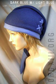 Legend of Zelda - Link Zora's blue hat cosplay prop.