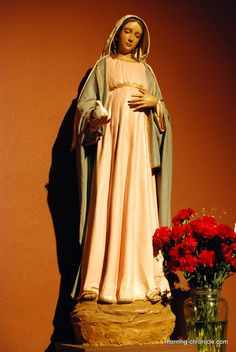 Pregnant Virgin Mary: Salta Argentina