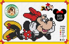 Minnie Mouse pattern by Carina Cassol -                                                                                                                                                                                 Mais