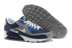 86e5cd9184f Nike shoes outlet store in California 2013 Air Max 90 Mens Shoes New Grey  Blue