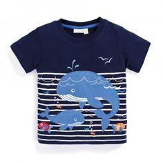 Boys' Whales T-Shirt