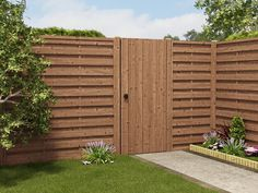 Buy Picket Fence Panels From Dunster House, a leading UK garden building supplier. Get Your Fence Panels delivered with our home delivery service. Picket Fence Panels, Fence Posts, Modern Fence, Building Companies, Garden Office, Garden Buildings, Fence Design, Cabin Homes, 10 Years
