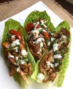 21 Day Fix Chicken Fajita Wraps (with Weight Watchers Points) - Carrie Elle