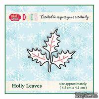 Ножи от от Craft&You Design - Holly Leaves, 4,5 x 4,1 см - ScrapUA.com