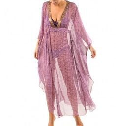 For our honeymoon in Hawaii, a gorgeous full length kaftan by pistol panties at fox & rose