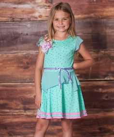 Love this Minty Juliet Dress - Infant, Toddler & Girls on #zulily! #zulilyfinds