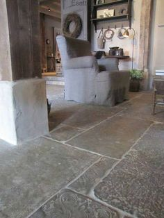 If you happen to're contemplating a transform, whether or not massive or small, you might need to take a detailed take a look at pure stone flooring. , floors Fantastic Add Sturdiness and Lasting Magnificence to Your Area Stone Tile Flooring, Flagstone Flooring, Modern Flooring, Natural Stone Flooring, Stone Tiles, Kitchen Flooring, Farmhouse Flooring, Stone Kitchen Floor, Castle Stones
