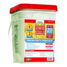 Autumn Sun 4 Person 3 Day Emergency Food Kit