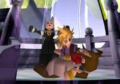 Week 7 - Final Fantasy VII - Original Game Art Sun - Aeris' Death